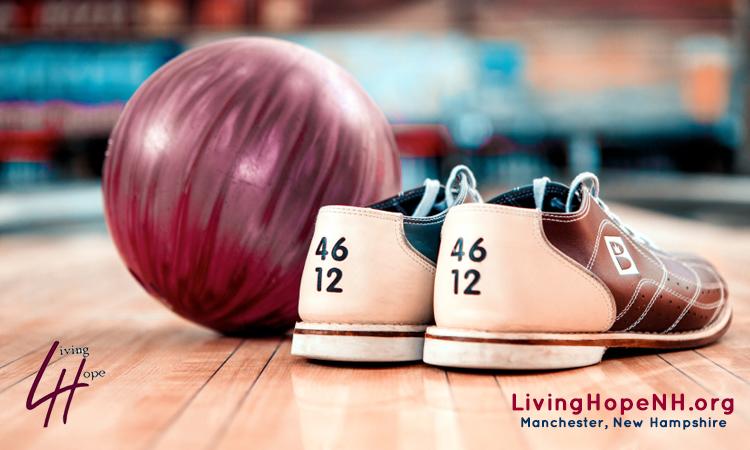 Bowling Night Adults Night out LivingHopeChurchNH.org