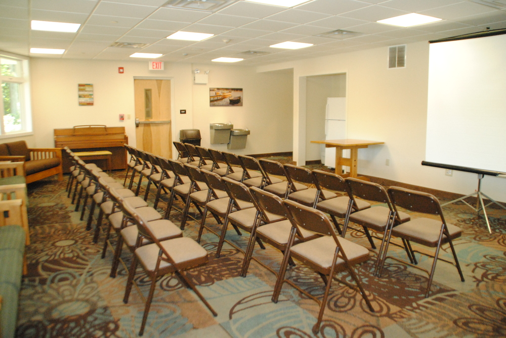 Overlook Lounge, Prepared for a Teaching Session