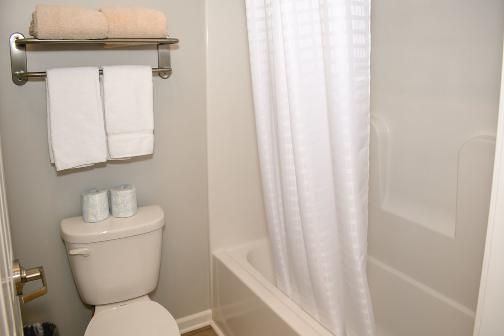 Private bath in Inn Room 41