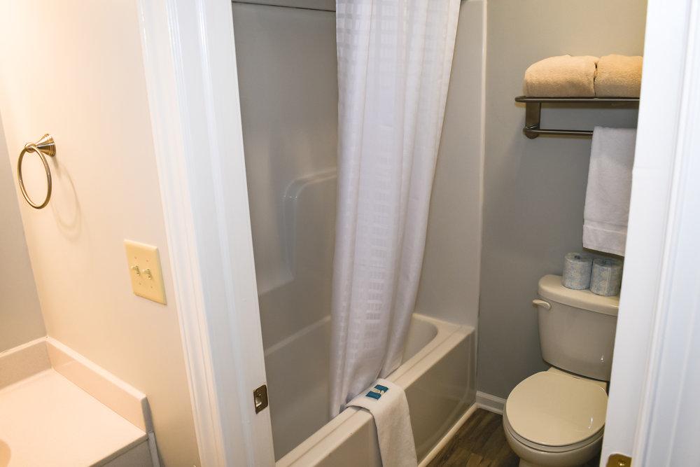 Private Bath in Inn Room 42
