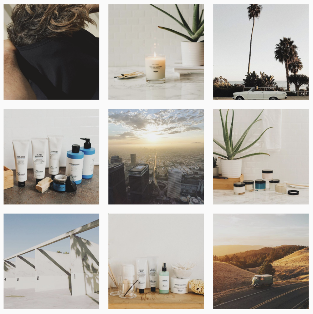 Photo work for L'Oréal's company, Baxter Of California. I provided them with styled images of their products in a lifestyle setting for social media and web campaign use.
