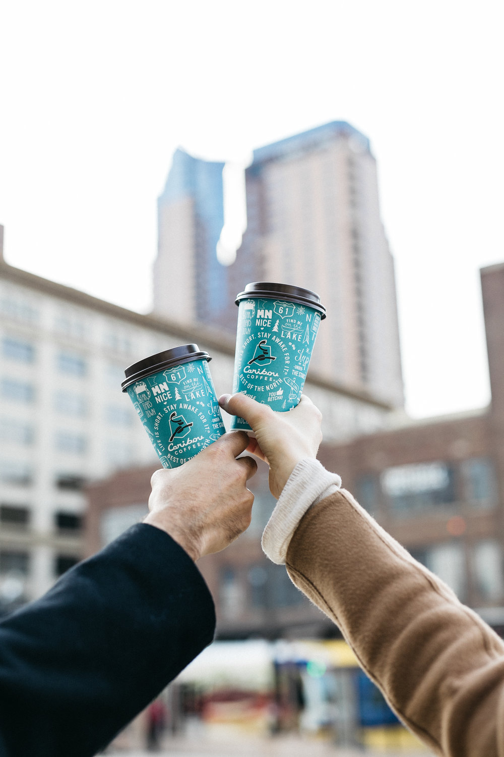 caribou coffee bethany catharine schrock bethcath marketing media lifestyle social media photograph minneapolis