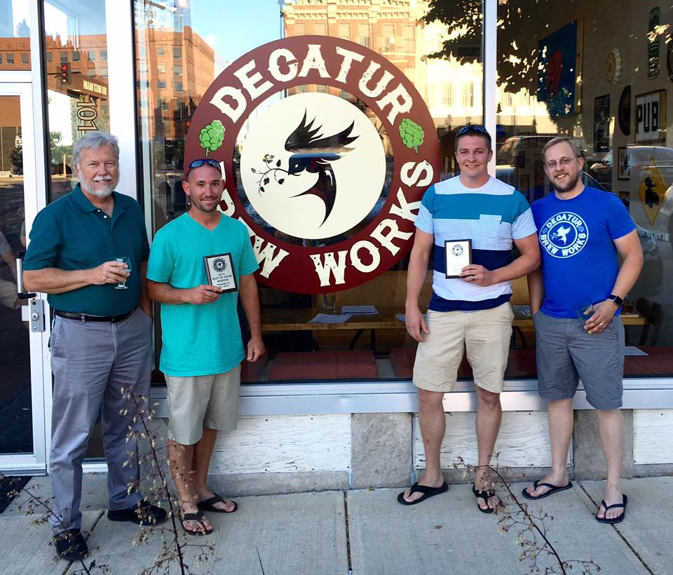 "The first annual winners of the Tried and True Homebrew Battle winners were announced on Tuesday, June 26th. This the ""Best In Show"" award went to a collaboration beer from BJ Rotz and Griffin Gibbs. They made a delicious wee heavy that will be brewed by DBW and on tap in a few short months."