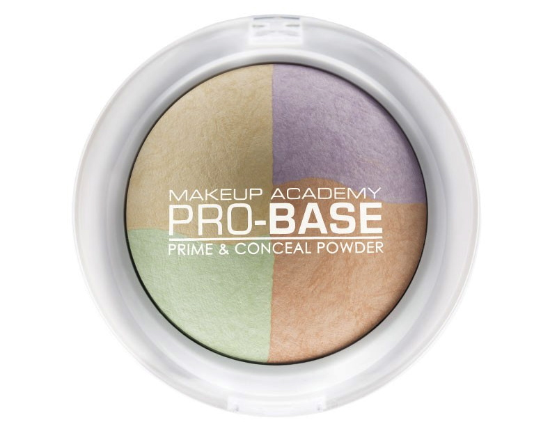 Pro base prime and concealer powder