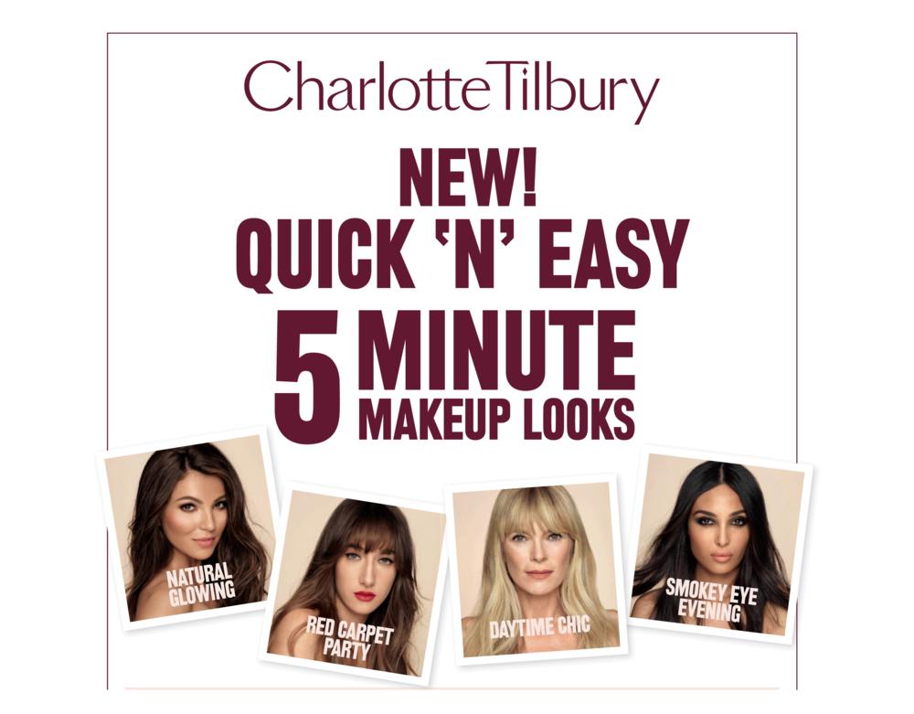 #QuickNEasy Charlotte Tilbury