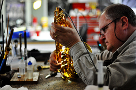 Carl Thacker instrument repair