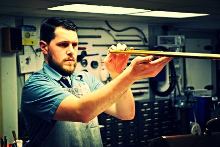 Travis Thacker instrument repair technician