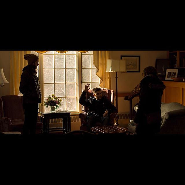 PrePro. 2.01.2018. • • • • • #cinematography #film #mycanonstory #uclatft #ucla #scituate #church #matriarch #matriarchfilm #availablelight #windows #funeral #goldenhour #daylight #cold #snow #dunkindonuts #silhouette #somewheremagazine #broadmag #vsco #vscocam #5D #backlit #singlesource #boston #newengland #ihaveathingforshadows #myfeatureshoor