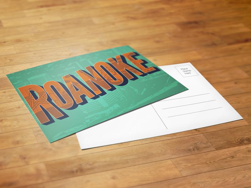 Roanoke Postcard