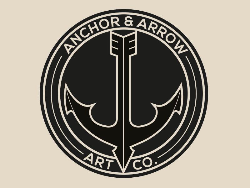 Anchor & Arrow Art Co. Logo