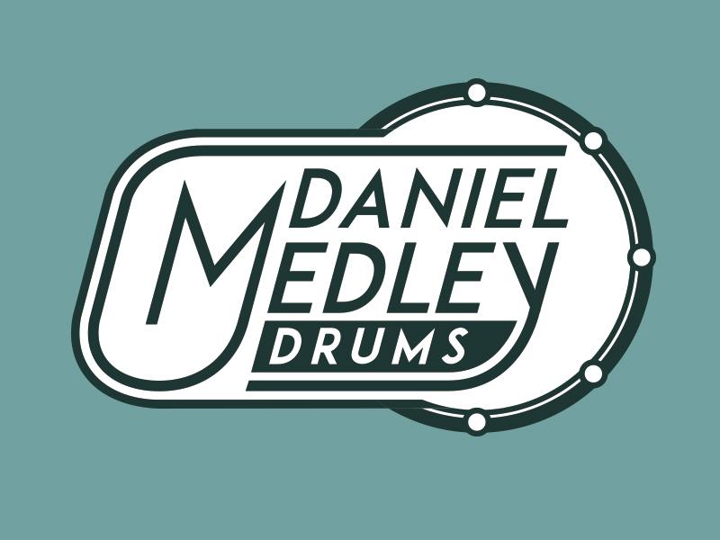 Daniel Medley Drums Branding