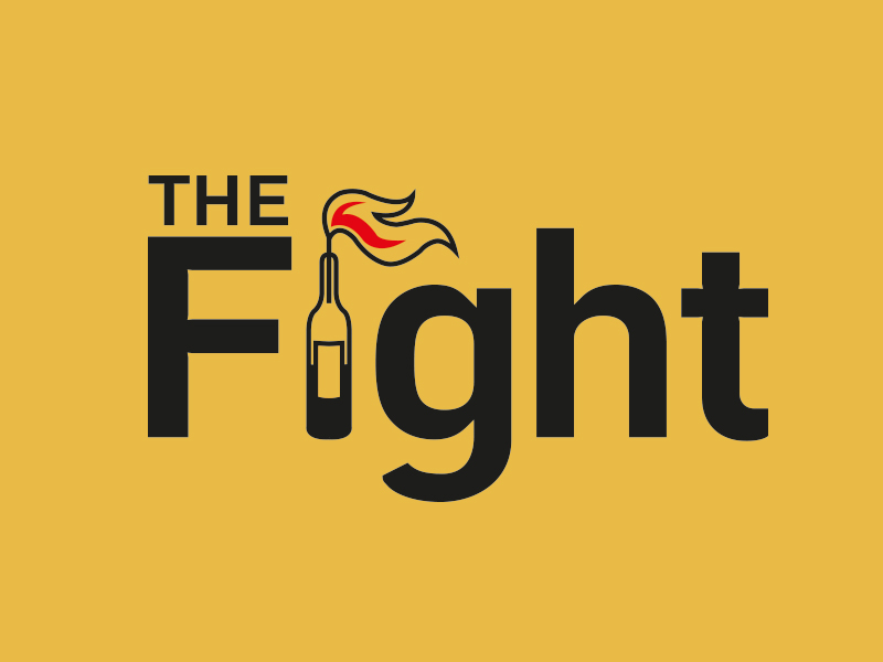 The Fight Podcast Branding