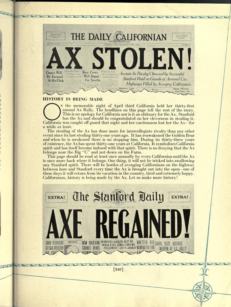 Ax Stolen!