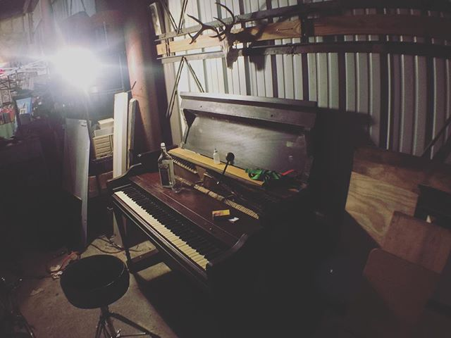 Another week another piano getting tuned up at the HI warehouse. Where will this one go?!