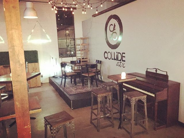 New Piano for @collideaustin ! #piano #atx #hella #pianoman #austintx