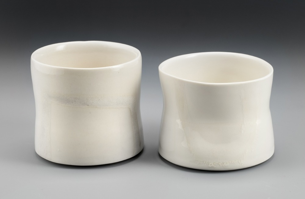 Cups with thumb indents
