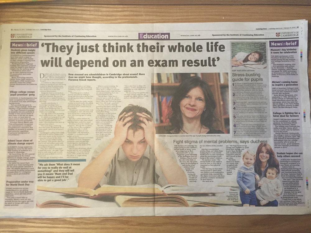 Cambridge News article