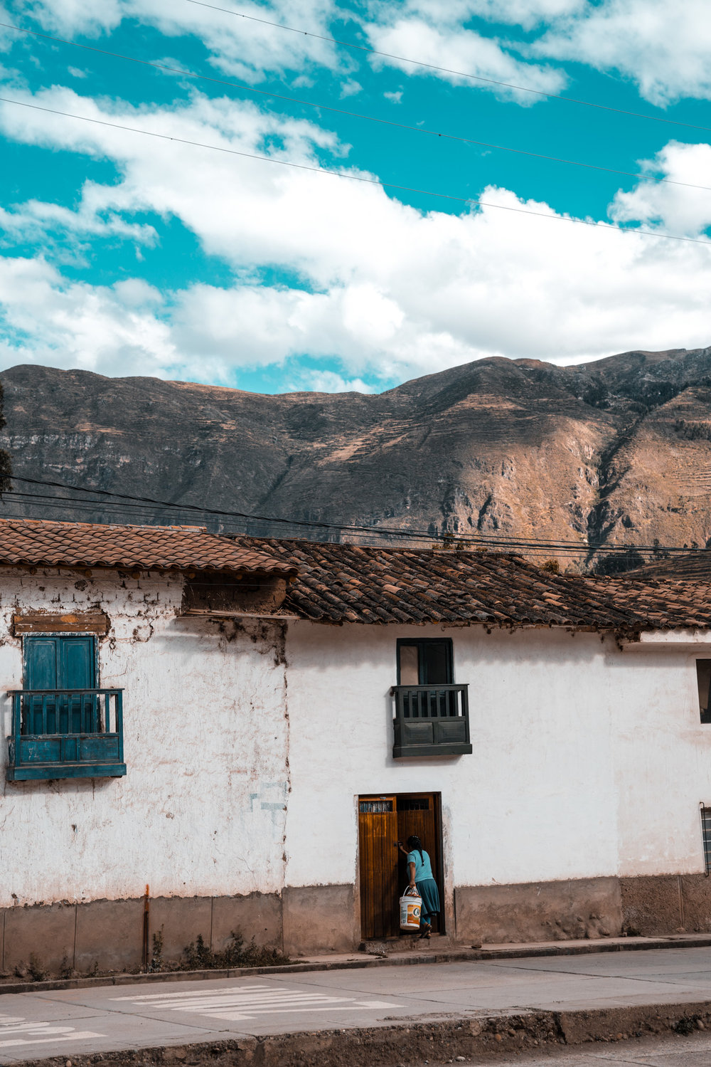 Teal Peru -