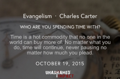 "Click to read ""Who Are You Spending Time With?"" By Charles Carter"