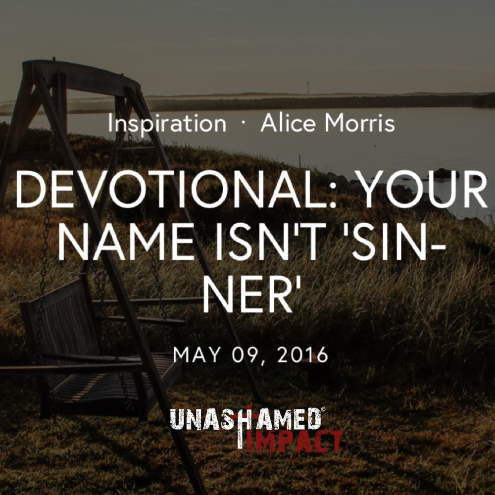 "Click to read ""Your Name Isn't 'Sinner'"" By Alice Morris"