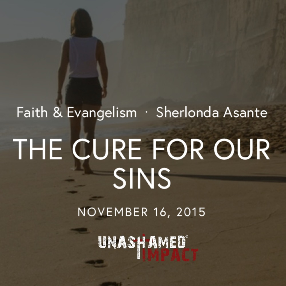 "Click to read ""The Cure For Our Sins"" By Sherlonda Asante"