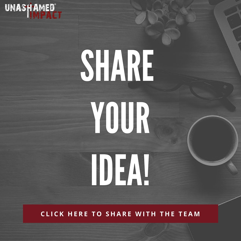 Share your ideas! Have a topic you'd like us to write on? We want to hear it! Click HERE to share your idea with the UI Blog Team. You can even recommend a specific writer.