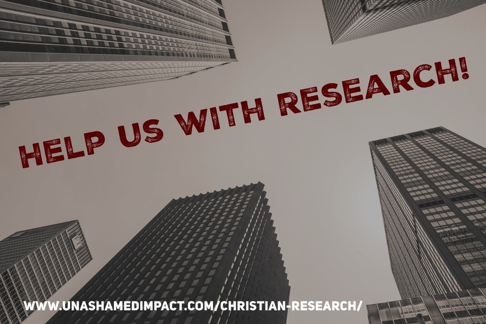 Our writers are also given the opportunity to be involved with the Unashamed Impact Christian Research Program, diving deeper into important topics about the Body of Christ, and having a chance to write about it on the UI Blog.