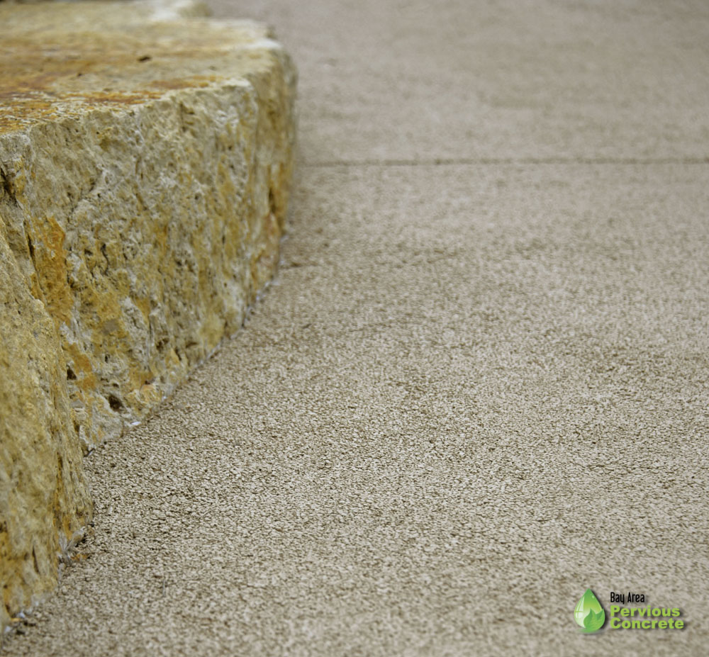 Bay Area Pervious Concrete - Portola Pervious Concrete - Driveway - Palo Alto - Decorative