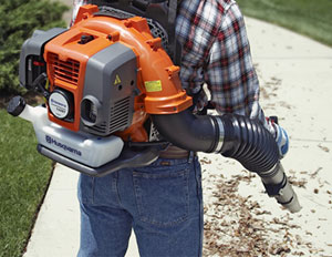 Spring Cleaning Tip: Use a Leaf Blower to Remove Surface Debris from Your Pervious Concrete