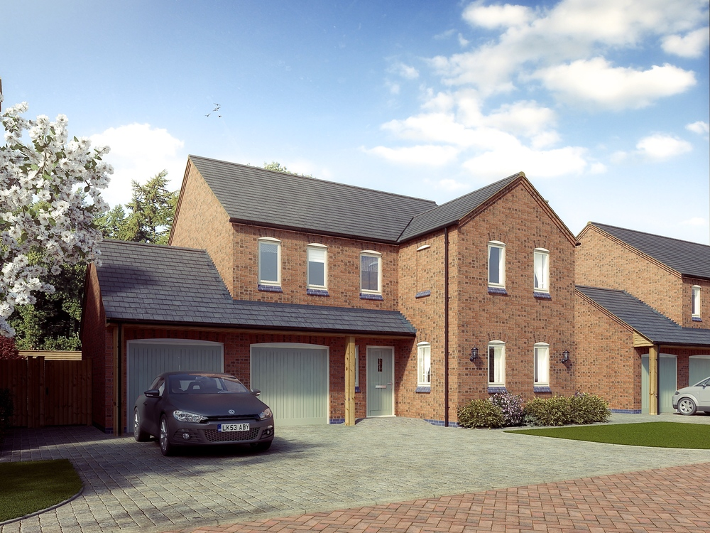 Plot 3 Ashlands 4 Bedrooms £SOLD