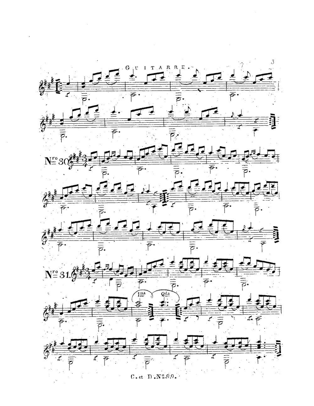 Original Ober Ländler for Guitar, Op.1 (Schuster, Vincenz) 14.jpg