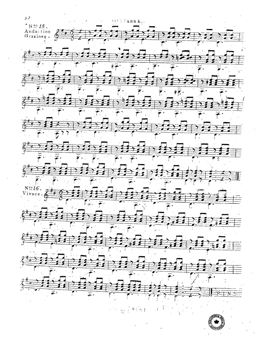 16 Pièces faciles et agréables, Op.74 (Giuliani, Mauro) 11.jpg