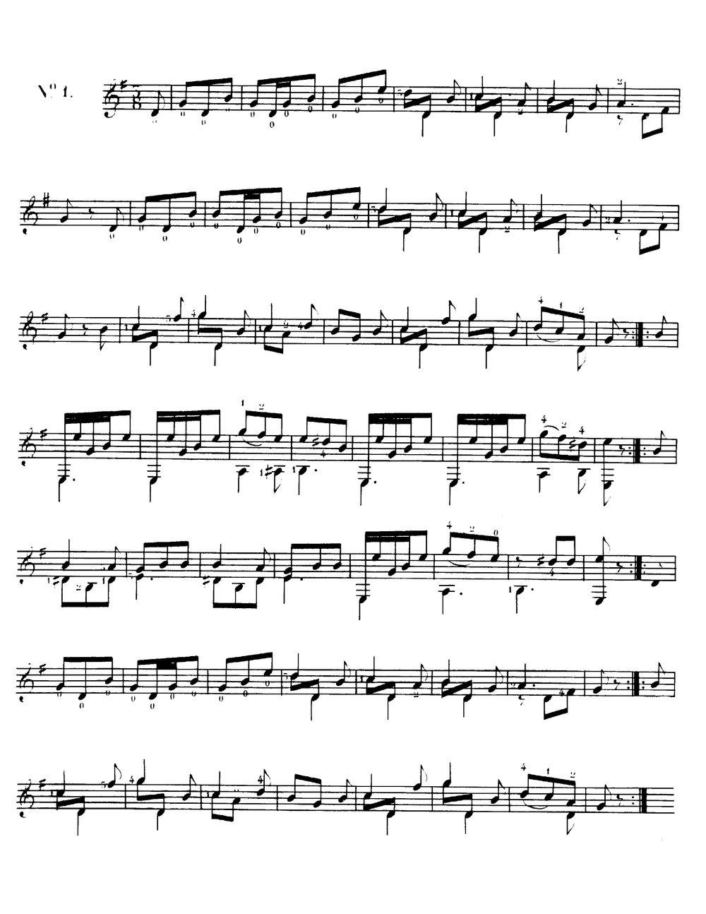 A la bonne heure, Op.51 (Sor, Fernando)  1.jpg