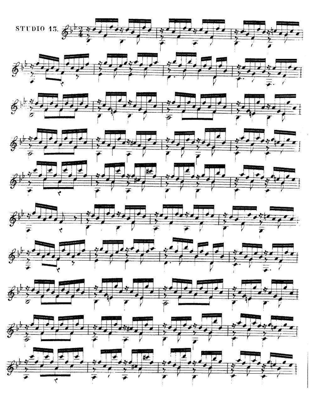 12 Etudes, Op.29 (Sor, Fernando) 1.jpg