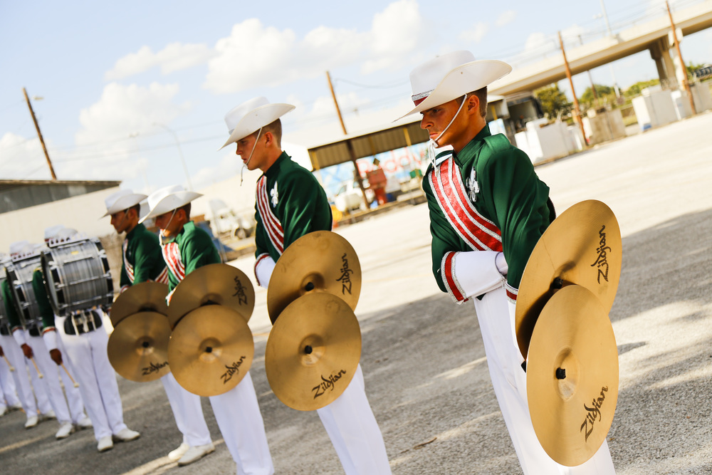 Madison Scouts Cymbal line