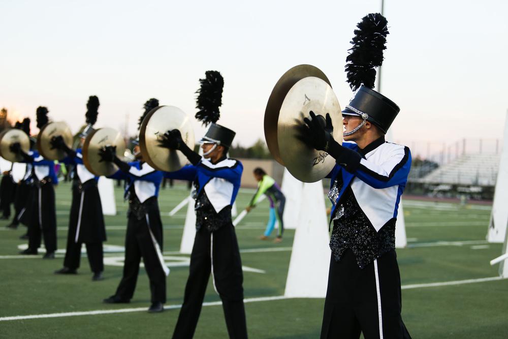 Blue devils b Cymbal line