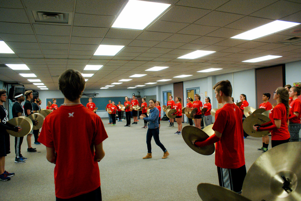 Cymbal education at your doorstep. - Seavine is excited to bring cymbal education to you! We have given clinics for percussion circuits including Indiana Percussion Association, high school programs, and percussion conventions all over the world.