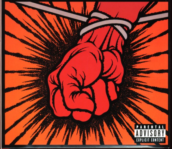 Metallica - 2003 - St. Anger - Front