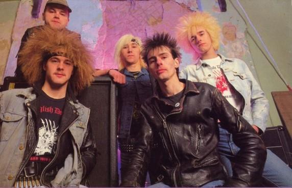 Forward Into Battle lineup circa 1985