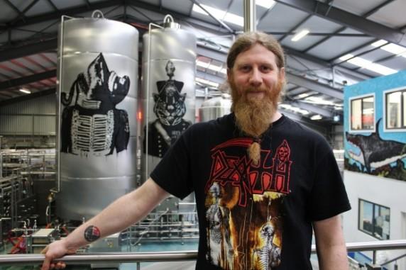 BrewDog head brewer, Stuart Bowman.