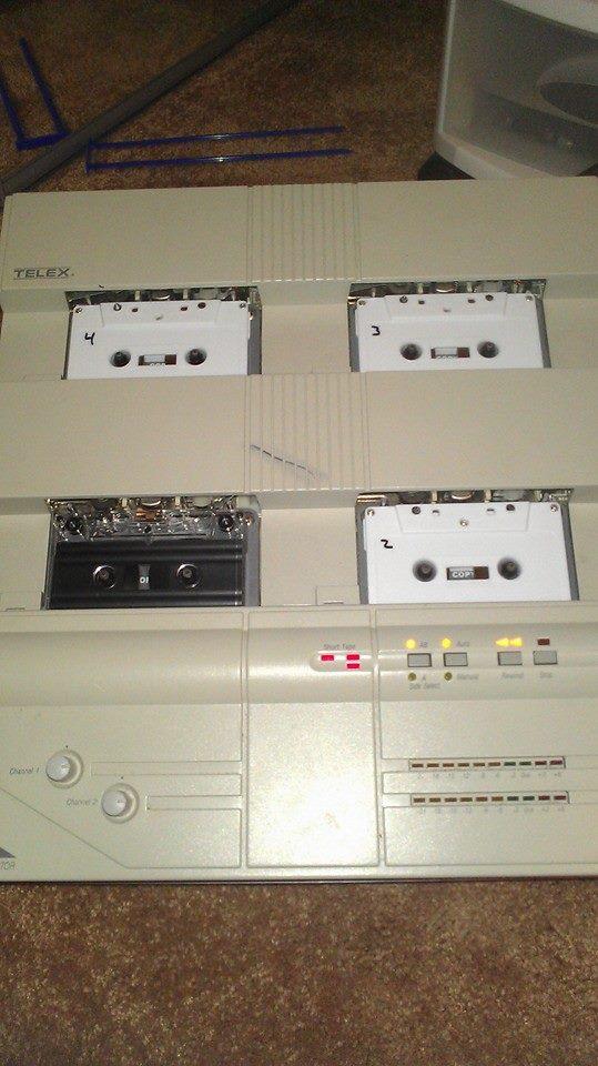 deciblog - tridroid tape
