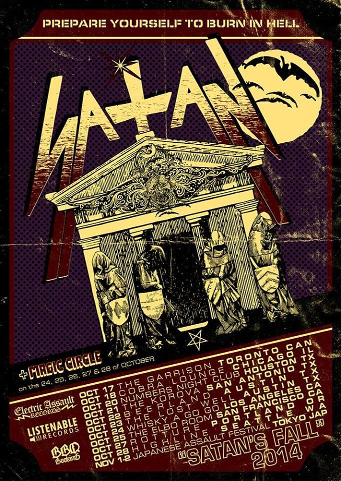 deciblog - satan tour poster