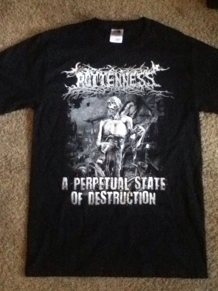 deciblog - rottenness album shirt