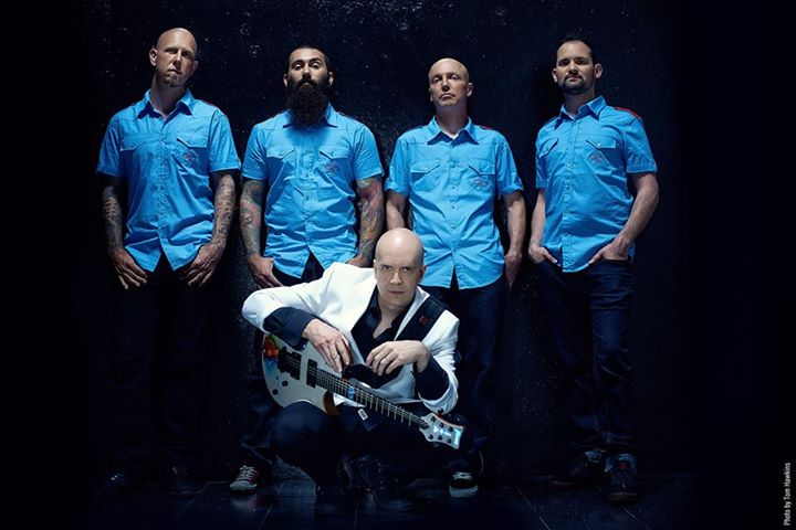 Devin Townsend Project Blue Shirts
