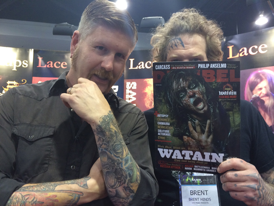 Mastodon at NAMM
