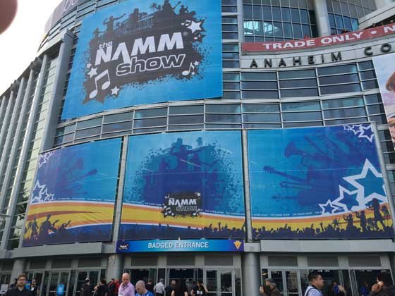 Outside NAMM