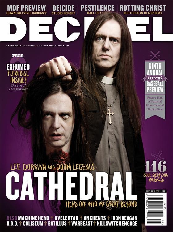 Decibel 103 - Cathedral cover