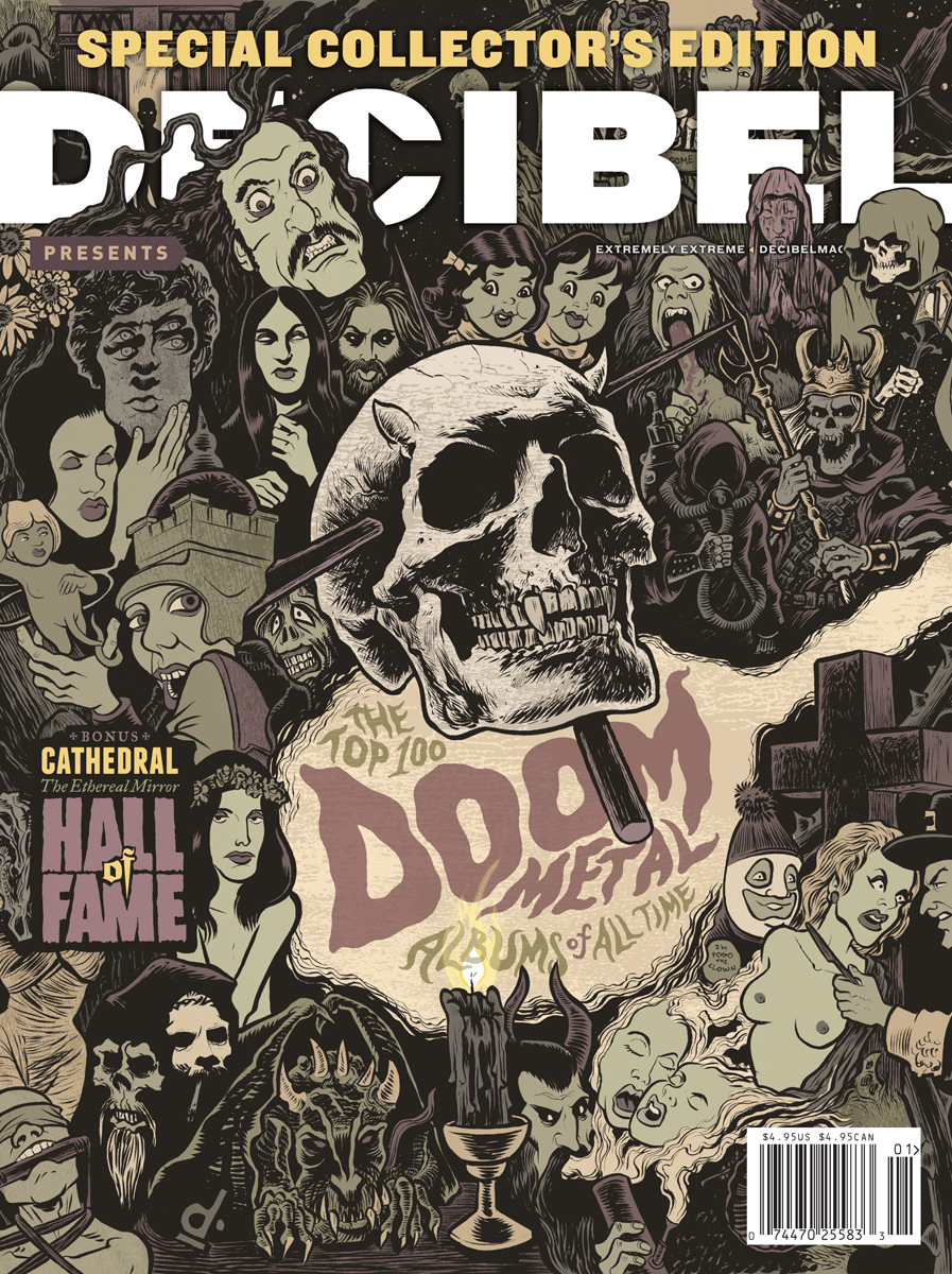 Decibel Top 100 Doom Metal Albums Issue with Cathedral Hall of Fame