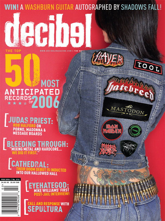 Decibel 016 with Cathedral Hall of Fame