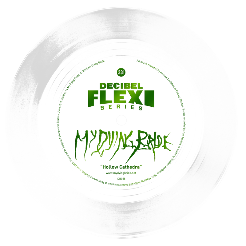 My Dying Bride - dB 058 Hollow Cathedra flexi